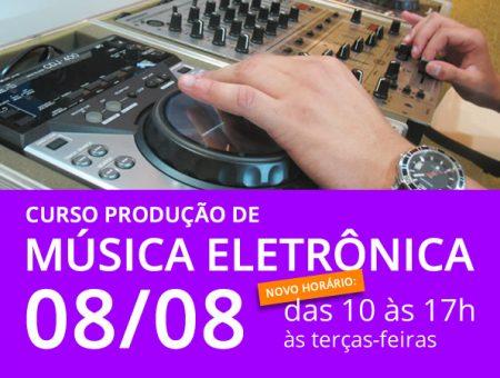 Curso Produção de Música Eletrônica