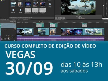Curso Completo de Edição de Vídeos – VEGAS