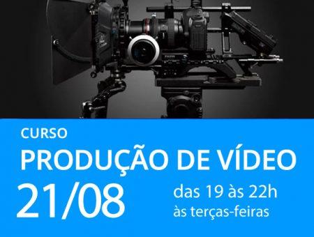Curso Produção de Vídeo